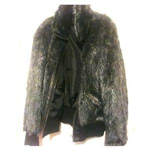 fun fake fur bomber jacket